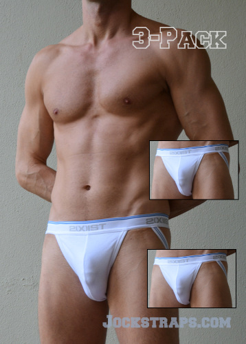 2Xist Jockstrap 3-Pack in color White